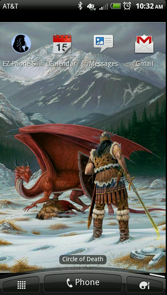 Larry Elmore Live Wallpaper alt text